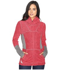 Hot Chillys Pico Full Zip Hoodie Rose Women's Sweatshirt Pink