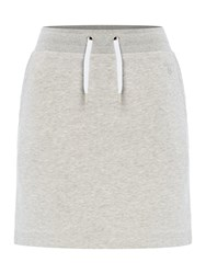 Gant Sweat Skirt Light Grey