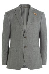 Baldessarini Virgin Wool Blazer Grey