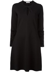 Dorothee Schumacher Keyhole Neck Dress Black