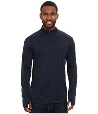 Kuhl Skar 1 4 Pirate Blue Men's Long Sleeve Pullover
