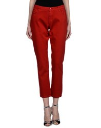 Blumarine Denim Denim Trousers Women Red