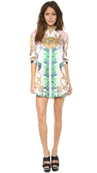 Just Cavalli Linda Print Shirtdress Multi