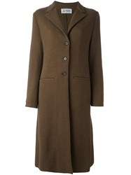 Barena Welt Pocket Coat Brown