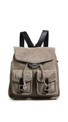 Rag And Bone Small Field Backpack Warm Grey