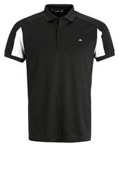 J. Lindeberg J.Lindeberg Joel Slim Fit Polo Shirt Black