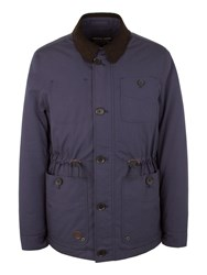 Racing Green Hicks Four Pocket Jacket Navy