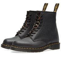 Dr. Martens X Stussy 1460 8 Eye Boot Black
