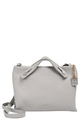 Skagen 'Mini Mikkeline' Satchel Grey Light Ash