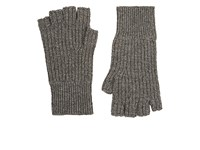 Rag And Bone Men's Kaden Melange Cashmere Fingerless Gloves Grey