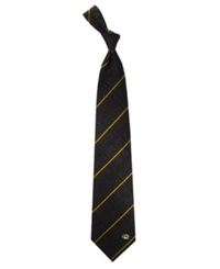 Eagles Wings Missouri Tigers Oxford Silk Tie Black