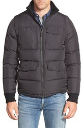Men's Victorinox Swiss Army 2 In 1 Quilted Jacket With Removable Sleeves
