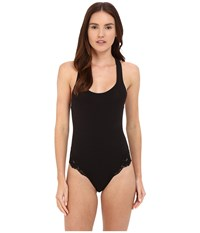 La Perla Souple Bodysuit Black Women's Jumpsuit And Rompers One Piece