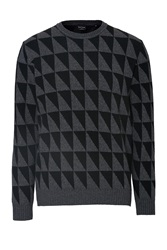 Ps By Paul Smith Merino Wool Cashmere Pullover Black