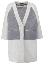 Eleven Paris Tulip Classic Coat Grey Melanged