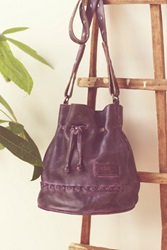 Bed Stu Stab Stitch Leather Bucket Bag