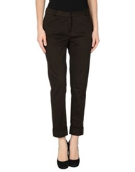 Kiltie Casual Pants Dark Brown