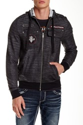 Affliction Up For It Zip Hoodie Black
