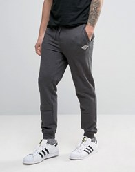 Tokyo Laundry Slim Fit Cuffed Jogger With Badge Logo Grey