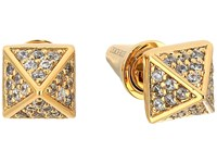 Eddie Borgo Pav Pyramid Stud Earrings Gold Earring