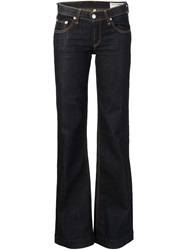 Rag And Bone Rag And Bone Flared Jeans Blue