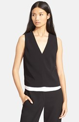 Women's A.L.C. 'Lou' Double Layered Sleeveless Top