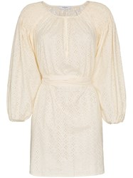 Marysia San Salvador Cotton Tunic Dress Nude And Neutrals