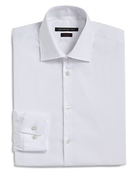 John Varvatos Star Usa Solid Stretch Slim Fit Dress Shirt White