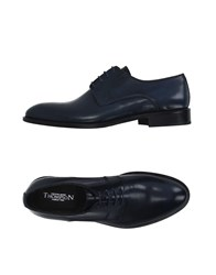 Thompson Footwear Lace Up Shoes Men Black