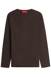 Hugo Pullover With Cotton Silk And Cashmere Gr. L