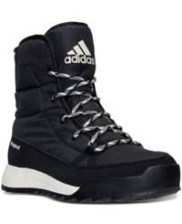 Adidas Women's Cw Cholea Padded Cp Boots From Finish Line Black Chalk White Black