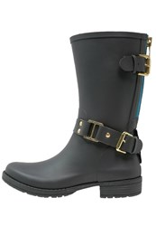 Colors Of California Wellies Dark Grey