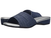 Daniel Green Dormie Denim Women's Slippers Blue