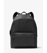 Jet Set Studded Logo Backpack