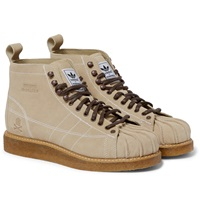 Adidas Neighborhood Shell Toe Suede Boots