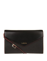 Lodis Kate Gabi Leather Wallet On A String Black