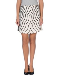 Marc By Marc Jacobs Mini Skirts Ivory
