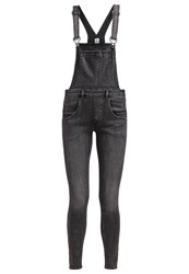 Cheap Monday Dungarees Past Grey Denim