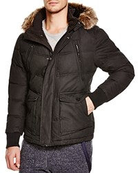 Jet Lag Faux Fur Lined Puffer Coat