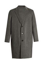 Acne Studios Charles Wool And Cashmere Blend Coat Charcoal