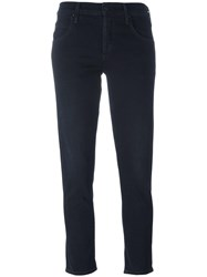 Citizens Of Humanity Cropped Flared Jeans Black