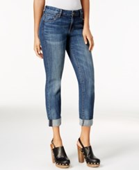 Kut From The Kloth Catherine Boyfriend Cuffed Jeans Worldly