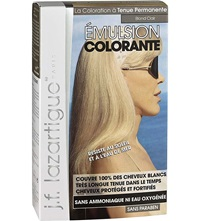 J.F.Lazartigue Colour Emulsion For Grey Hair In Light Blonde 60Ml