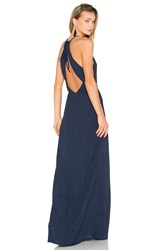 Hoss Intropia Embellished Maxi Dress Navy