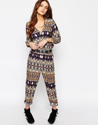 Only Boho Printed Jumpsuit Multi