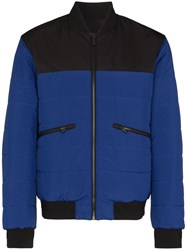 Z Zegna Reversible Quilted Bomber Jacket 60