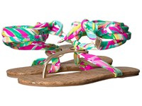 Lilly Pulitzer Harbor Sandal Multi Shady Lady Sandals