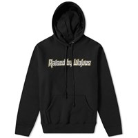 Raised By Wolves Brutalist Popover Hoody Black
