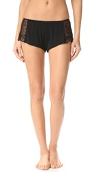 Only Hearts Club Venice Hipster Sleep Shorts Black