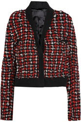 Haider Ackermann Wool Boucle Tweed Jacket